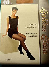 """Женские колготки """"Golden Lidia"""" 40 den, размер 6"""