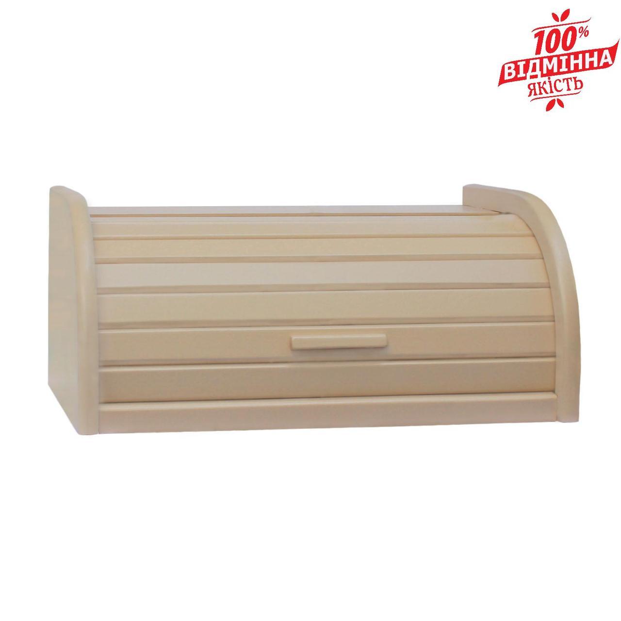 Хлебница деревянная MAZHURA бежевый mz505800