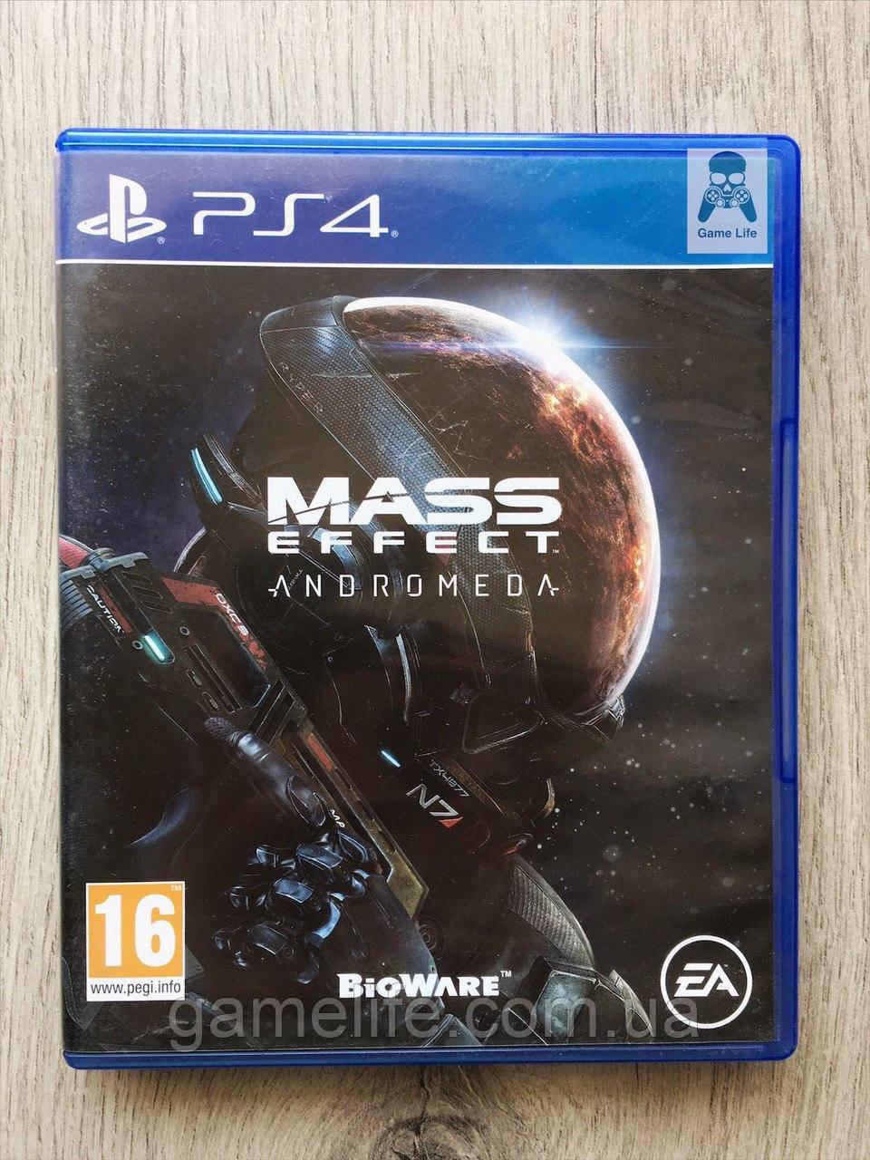 Mass Effect Andromeda (рус. суб.) (б/у) PS4