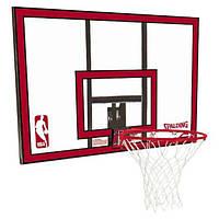 Щит баскетбольный игровой Spalding NBA Polycarbonate Backboard 112х73,5 см (30 01672 01 1444)