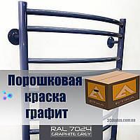 Порошковая краска глянец цвет 7024 для мебели лофт и металлических крепеже матовый эффект