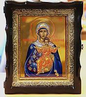 Икона Богородицы Аз есмь с вами и никтоже на вы (икона писаная)