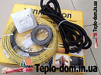 Нагревательный електрический кабель в стяжку пола , 2,2 м2 (акционная цена с механическим RTC 70.26)(460 вт)