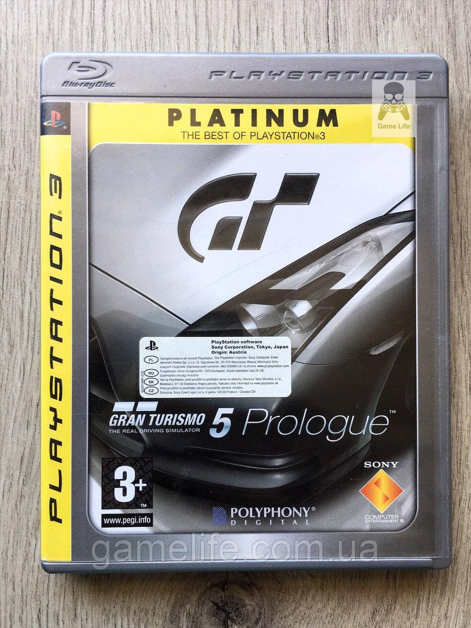 Gran Turismo 5 Prologue (англ.) (б/у)  PS3