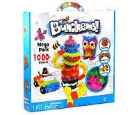 Детский конструктор липучка Bunchems 1000 Pieces Вязкий пушистый шарик Банчемс на 1000 деталей (an353)