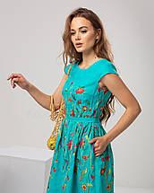 """Платье с цветочной вышивкой """"Клер"""", фото 3"""