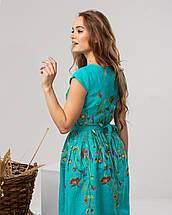 """Платье с цветочной вышивкой """"Клер"""", фото 2"""
