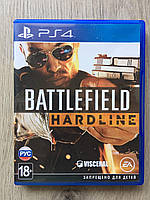 Battlefield Hardline (рус.) (б/у)  PS4, фото 1