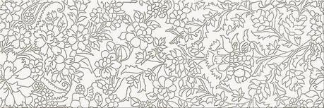 Плитка Opoczno / White Inserto Flower  25x75, фото 2
