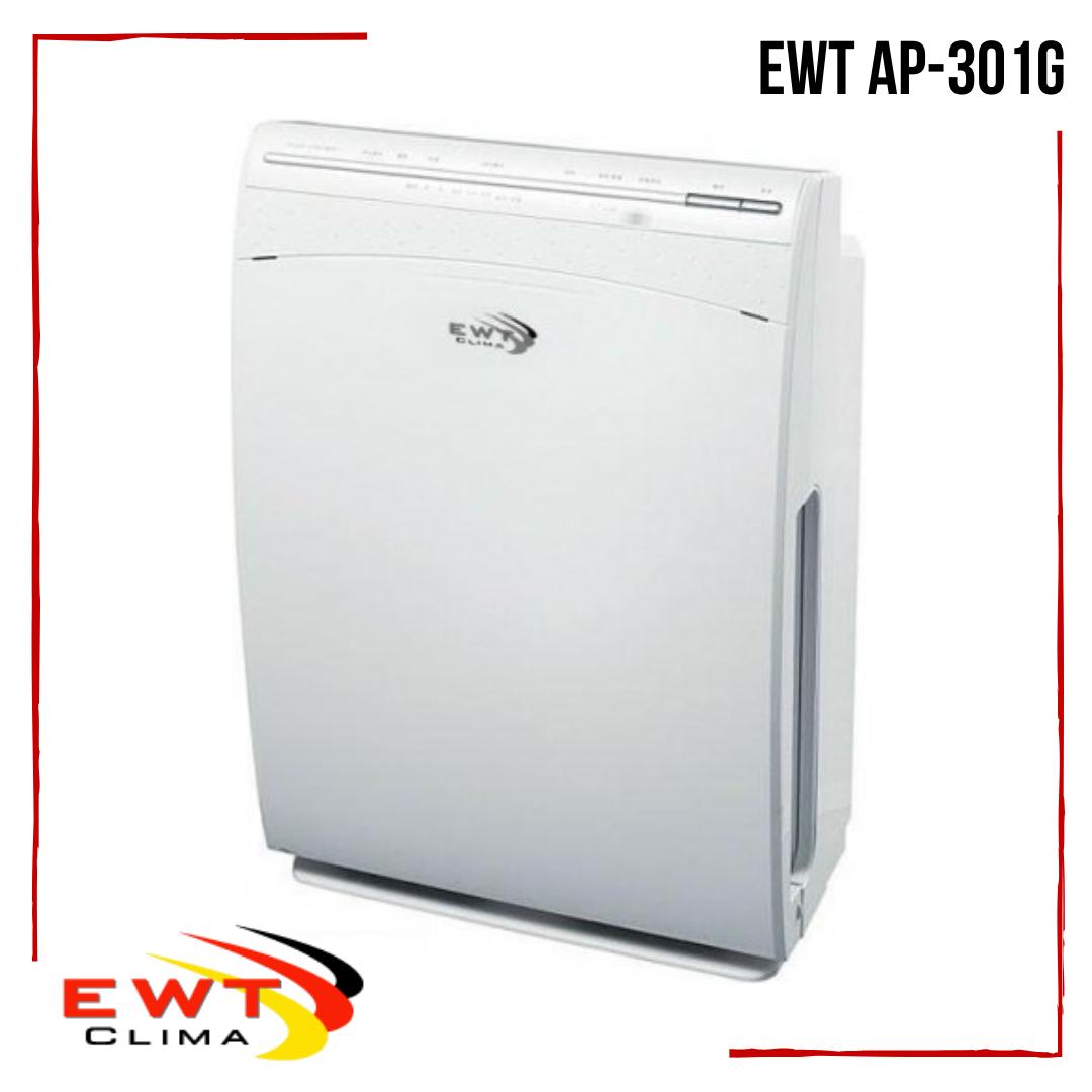 Очиститель воздуха комнатный EWT AP-301G ионизатор, генератор плазмы и 4 фильтра очистки воздуха на 41м2