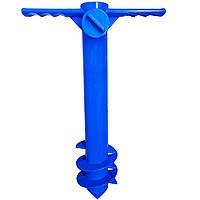 Бур для пляжного зонта Синий R0559, КОД: 1636695