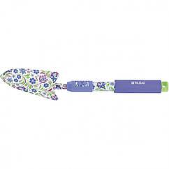 Совок посадочный широкий, 85 х 400 мм, стальной, удлиненная рукоятка, Flower Mint Palisad