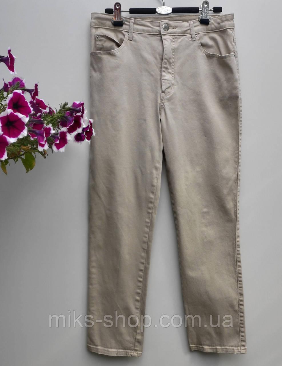 Брюки мужские прямые flash jeans размер 48 (у-65)