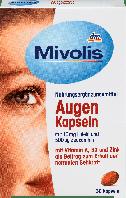 Биологически активная добавка для зрения Mivolis Augen с Vitamin A, B2 и Zink, 30 шт., фото 1