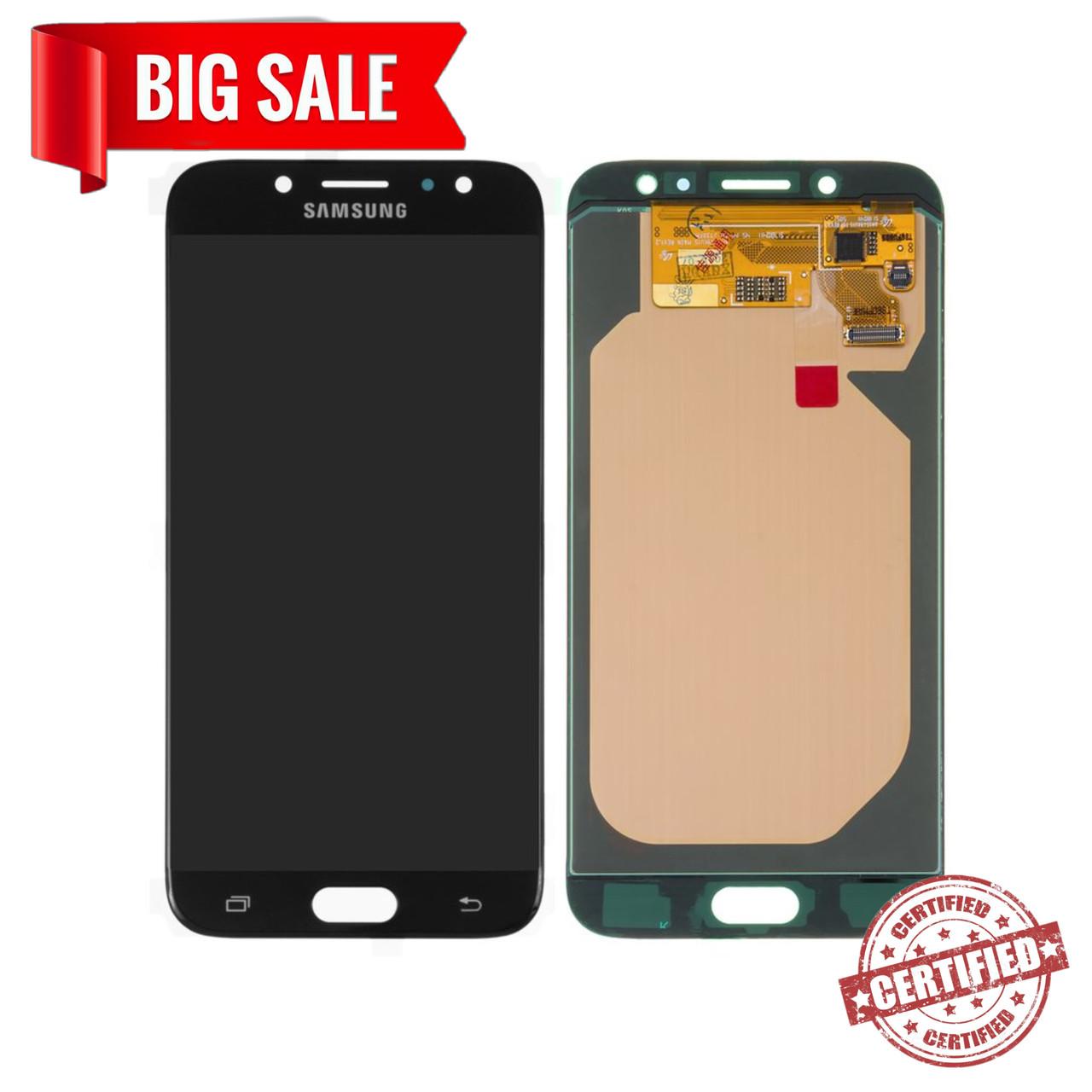 Модуль (сенсор+дисплей) Samsung J730F, J730GM/DS, J730G/DS, J730G/DS, J730FM/DS Galaxy J7 (2017) OLED чорний
