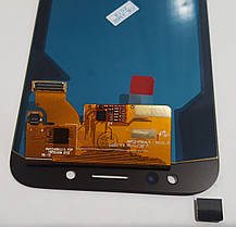 Модуль (сенсор+дисплей) Samsung J730F, J730GM/DS, J730G/DS, J730G/DS, J730FM/DS Galaxy J7 (2017) OLED чорний, фото 3