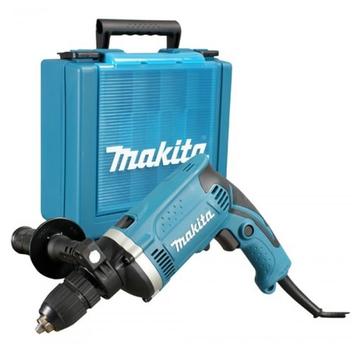 Дрель ударная Makita - HP1631К 710 Вт