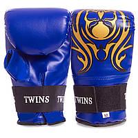 Снарядные перчатки с открытым большим пальцем DX TWIN MA-5437 (р-р M-XL, цвета в ассортименте)