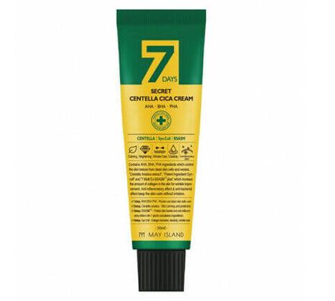 Восстанавливающий лечебный крем для проблемной кожи May Island 7days Secret Centella Cica Cream