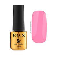 Гель лак темно-розовый F.O.X gel-polish gold Pigment, 6ml №056