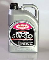 Синтетичне моторне масло Meguin megol motorenol Compatible sae 5w-30 5L