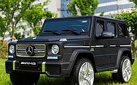 Детский электромобиль Джип «Mercedes-AMG» M 3567EBLRM-2 (4WD полный привод) Автопокраска Матовый