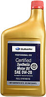 Моторное масло Subaru Synthetic Motor Oil 0W-20 0,946л