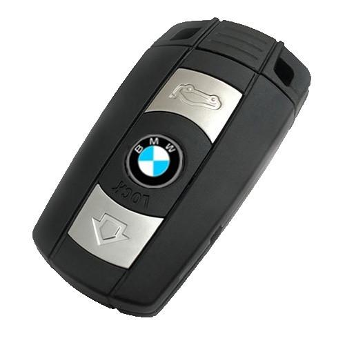 Смарт-ключ для BMW CAS3 868 МГц для серії 1/3/5/7 X5 X6 Z4 Чорний