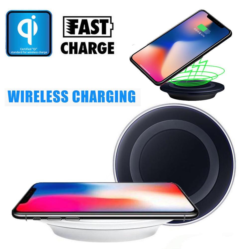 Универсальная беспроводная зарядка QI wireless charger 6s Черная