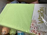 """Махровая простынь на резинке 230х250см Простынь""""VISION Premium"""" на двуспальный матрас., фото 4"""