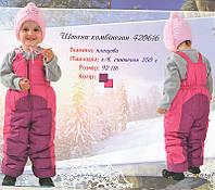Зимний полукомбинезон для девочек