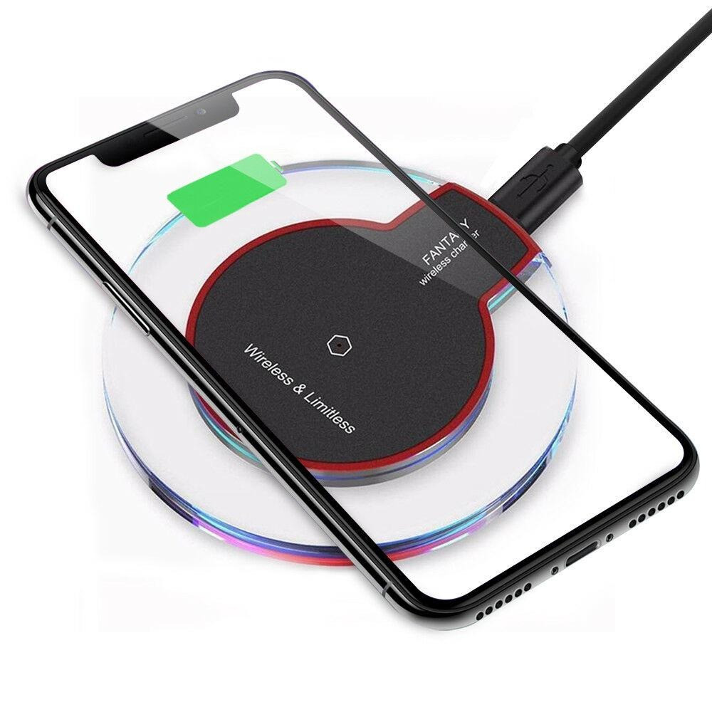 Універсальна бездротова зарядка для телефону FANTASY Wireless Charger Black