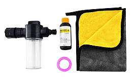 Набор для мытья машины Baseus Simple Life Car Wash Suit Черный (TZCRSC-01)