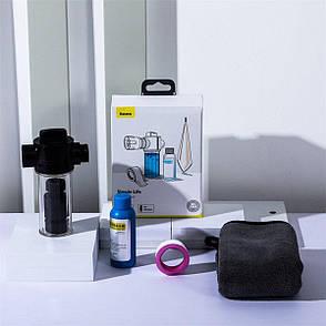 Набор для мытья машины Baseus Simple Life Car Wash Suit Черный (TZCRSC-01), фото 2