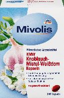 Биологически активная добавка Mivolis KMW с чесноком, омелой и боярышником , 240 шт., фото 1