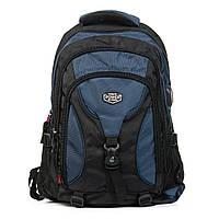 Рюкзак Городской нейлон Power In Eavas 8210 black-blue городские рюкзаки  дешево оптом и в розницу в Украине., фото 1