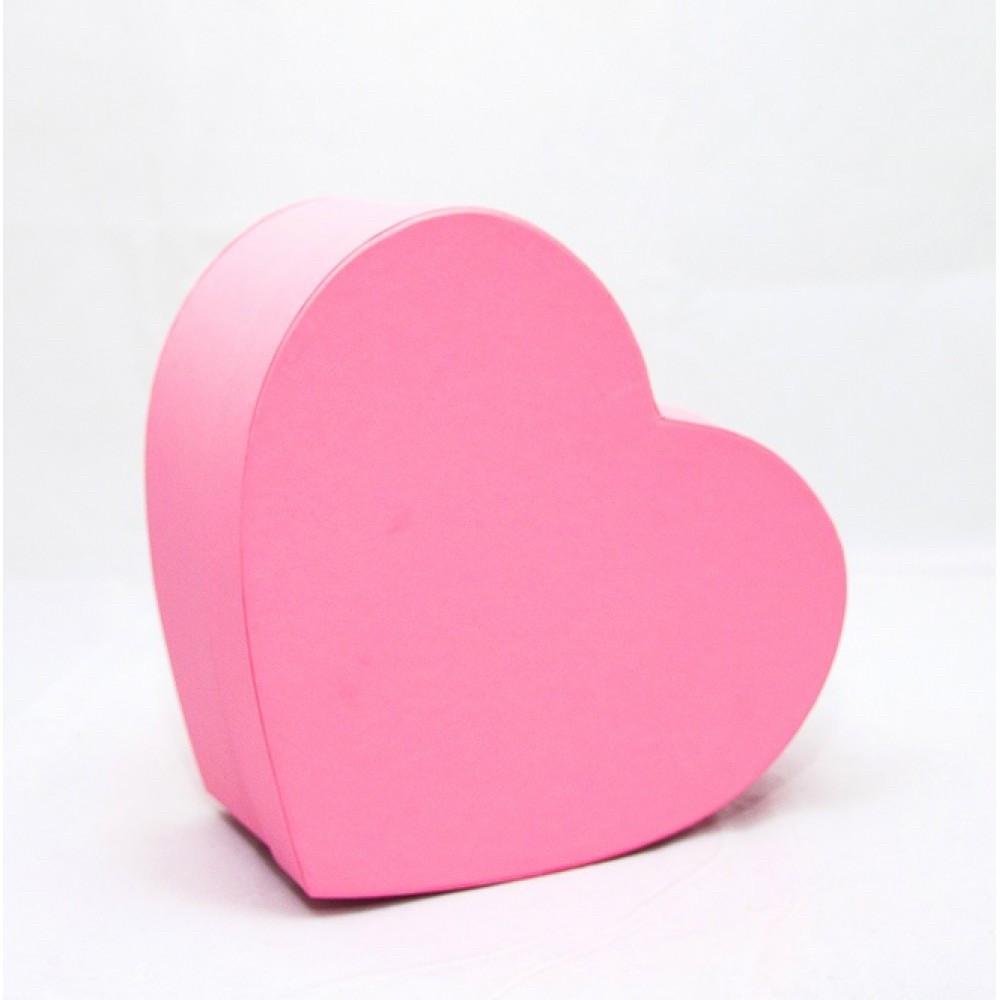 Подарункова картонна коробка Серце 250*200*100 мм