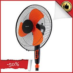 Вентилятор электрический бытовой напольный Domotec Changli Crown FS-1619 /16 для дома и офиса
