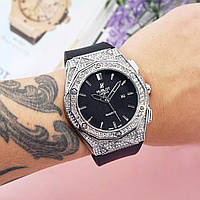 Женскиечасы Hublot Geneve Silver, жіночий годинник Хублот