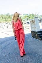 """Летний женский комбинезон """"Лилиана"""" с поясом и карманами (3 цвета), фото 3"""