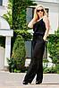"""Летний женский комбинезон """"Лилиана"""" с поясом и карманами (3 цвета), фото 4"""