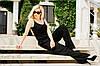 """Летний женский комбинезон """"Лилиана"""" с поясом и карманами (3 цвета), фото 5"""