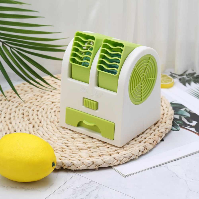 🔥 Настольный мини кондиционер Conditioning Air Cooler USB Electric Mini, работает от компьютера