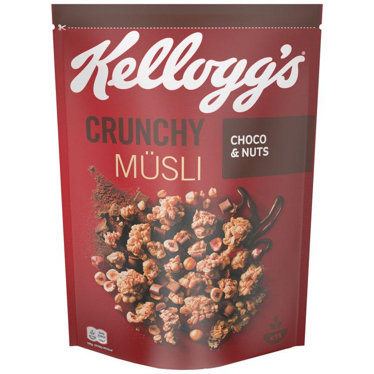 Kellogg's Crunchy Müsli Choco & Nuts, 500 г