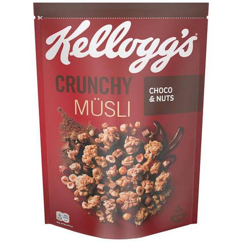 Kellogg's Crunchy Müsli Choco & Nuts, 500 г, фото 2