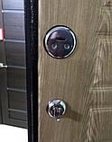 Дверь входная МЕДВЕДЬ Метал/МДФ Карпатская Ель Левая 86х2050, фото 7