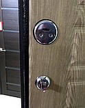 Дверь входная МЕДВЕДЬ Метал/МДФ Карпатская Ель Левая 96х2050, фото 7
