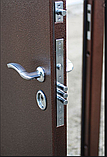 Дверь входная МЕДВЕДЬ Метал/МДФ Карпатская Ель Левая 96х2050, фото 8