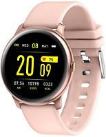 Жіночий Смарт годинник SMARTWATCH RUBICON RNCE40 рожевий