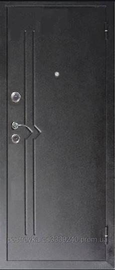 Дверь входная МЕДВЕДЬ Метал/МДФ Карпатская Ель Правая 86х2050